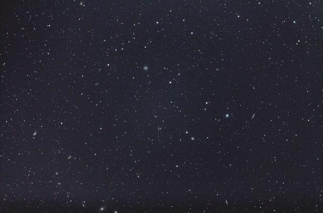 おとめ座銀河団(200mm望遠)