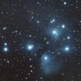 M45 プレアデス星団(FLT98・光害地)