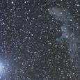"""IC2118(""""魔女の横顔""""星雲)"""