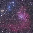 勾玉星雲(IC405)