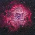 バラ星雲(光害地・Quad BP + 無改造デジカメ)