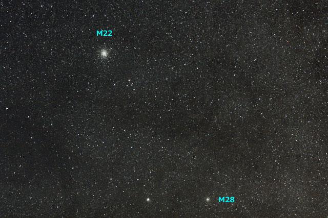 2008/08/09 M22とM28