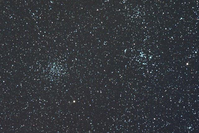 M46&M47(とも座の散開星団)