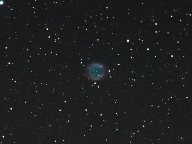 みずがめ座の「らせん状星雲」