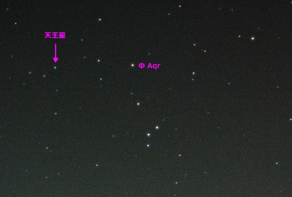2008/09/09の天王星の位置