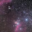 馬頭星雲~M78付近の星野(X-E2)