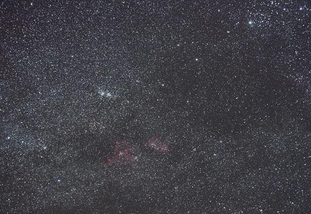h・χ付近の星野