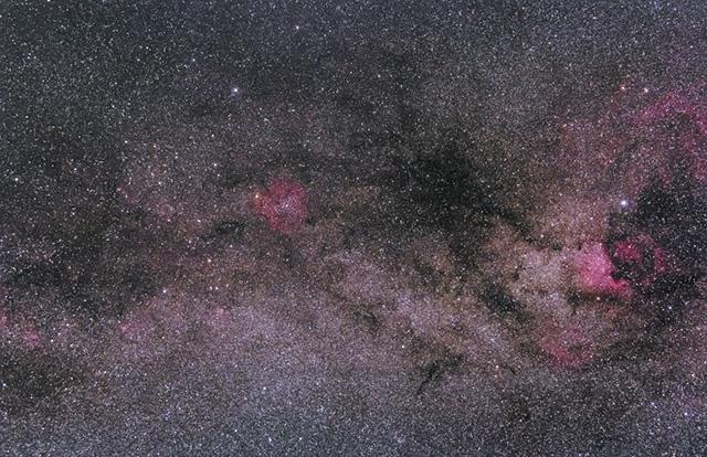 はくちょう座~ケフェウス座の星野